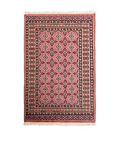 Navaei & Co. Tappeto Kashmir Rosso/Multicolore 123 x 78 cm