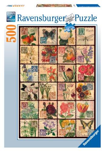 Ravensburger Vintage Flora - 500 Piece Puzzle