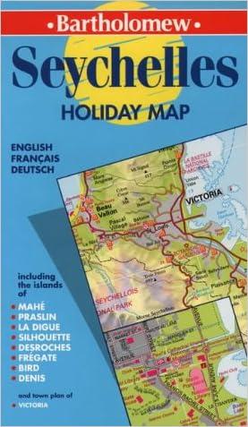 Seychelles Holiday Map (Bartholomew Holiday Maps)
