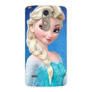 Gorgeous Winked Princess Freez Multicolor Back Case Cover for LG G3 Stylus