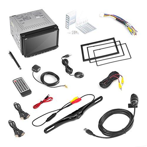 pyle pldnandvr695 gps android car stereo double din dvr dash cam backup camera kit dvd. Black Bedroom Furniture Sets. Home Design Ideas