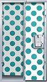 LockerLookz Locker Wallpaper - Blue Polka Dot - 24 pieces