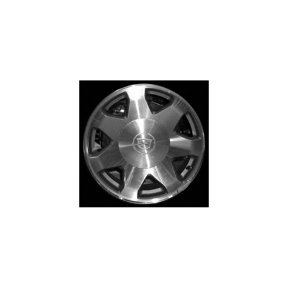 02 03 CADILLAC ESCALADE ALLOY WHEEL RIM 17 INCH SUV, Diameter 17, Width 7.5 (7 SPOKE), BRIGHT SILVER, 1 Piece Only, Remanufactured (2002 02 2003 03) ALY04563U20