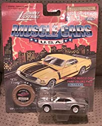 johnny lightning muscle cars usa silver 1970 super bee series 10 2913