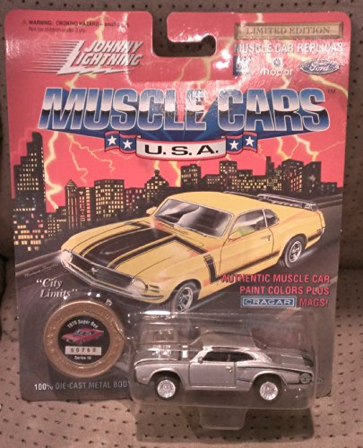 johnny lightning muscle cars usa silver 1970 super bee series 10 2913 - 1