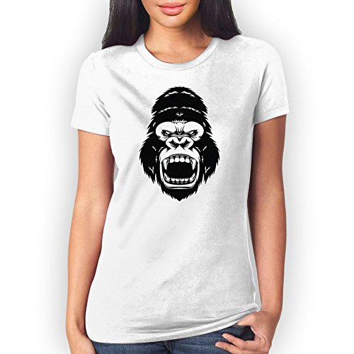 Angry King Kong XXL Donne T-Shirt