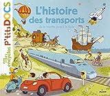 vignette de 'L' histoire des transports (Stéphanie Ledu)'