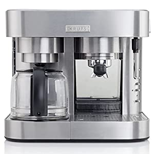 Krups Krups XP604050 SS Combi Espresso by Groupe SEB USA
