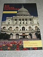 50 state capitols: Colorful souvenir book