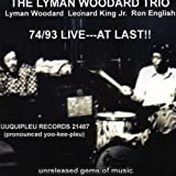 Lyman Woodard 74/93 Live: At Last