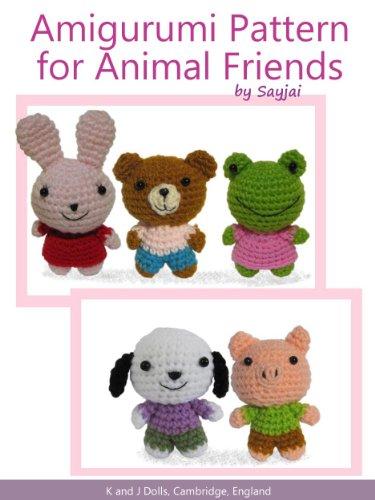 Crochet Doll Animals : eBook Amigurumi Pattern for Animal Friends (Easy Crochet ...