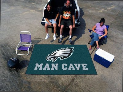"Philadelphia Eagles Man Cave UltiMat Rug 60""x96"" - FAN-14354"