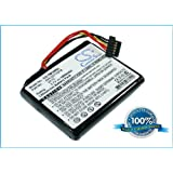 Replacement battery for TomTom Go 1000, Go 1005, Go 1000 Live, 4CS0.002.01, Go Live 1005, Go Live 1000, Go Live 1000 Regional
