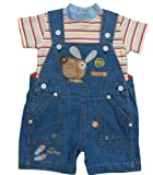 Baby Boy Dungaree Set 6 12 mths
