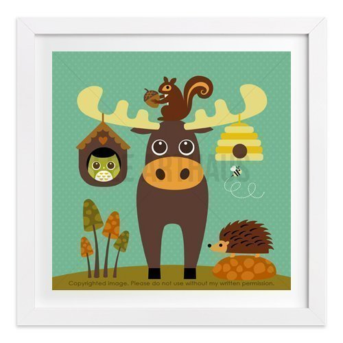 187-moose-and-beehive-unframed-wall-art-print-by-lee-arthaus