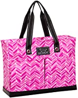 SCOUT Uptown Girl Multi-Pocket Zip-Top Tote, 16 by 12 by 5-1/2 Inches