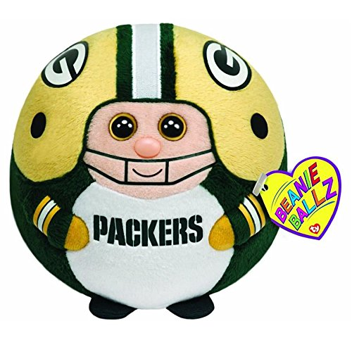 Ty Beanie Ballz Green Bay Packers - Clip