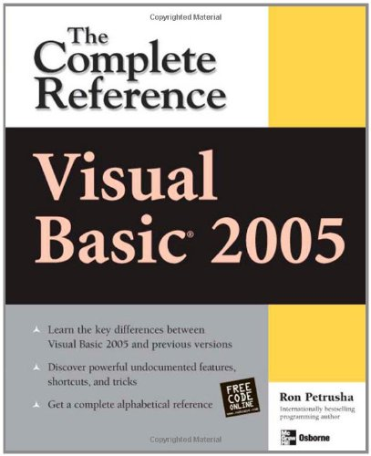 Visual Basic 2005: The Complete Reference (Visual Basic: The Complete Reference)