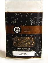 Mahamosa Chai Black Tea Blend and Tea Infuser Set 4 oz Tulsi Chai Black Tea 1 Stainless Steel Tea Ba