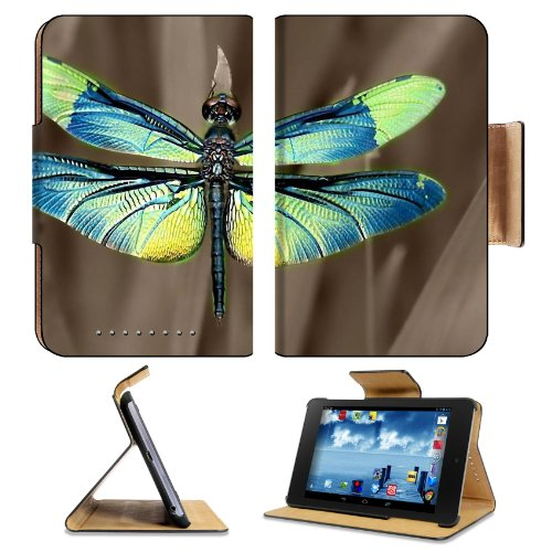 Insect Dragonfly Outdoor Nature Wings Closeup Google Nexus 7 Flip Case Stand Magnetic Cover Open Ports Customized Made To Order Support Ready Premium Deluxe Pu Leather 7 7/8 Inch (200Mm) X 5 Inch (127Mm) X 11/16 Inch (17Mm) Liil Nexus 7 Professional Nexus