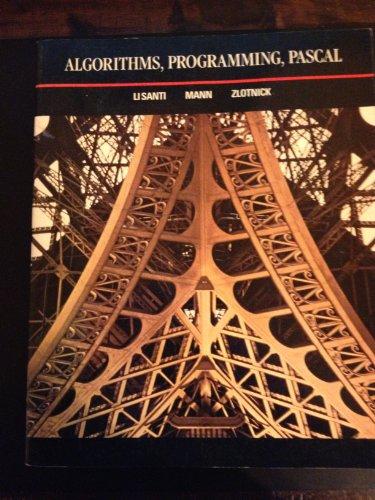Algorithms, Programming, Pascal