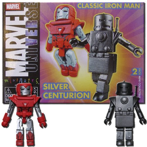 Marvel Minimates Classic Iron Man and Silver Centurion - 1