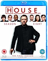 House, M.D.: Series 8 [Blu-ray] [Region Free]