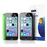 【3枚セット】Anker iPhone5/5C/5S 用 保護フィルム 高い透明度と耐久性 正確なカット マット仕上げ 日本産高品質素材採用【生涯保証】