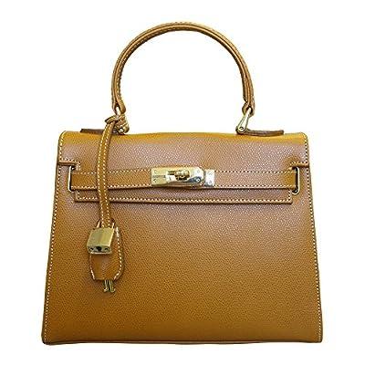 Carbotti - Sac Bellezza - sac de soirée très chic - coloris miel tan