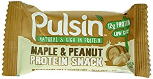 Pulsin 50g Maple and Peanut Protein Bar Case - Pack of 18