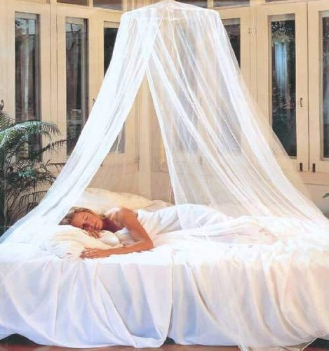 Nicamaka Siam Bed Canopy - Ivory