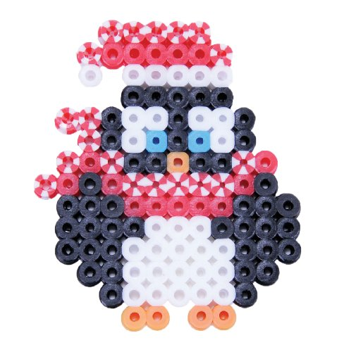 Perler Beads Fused Bead Kit, Santa Penguin - 1