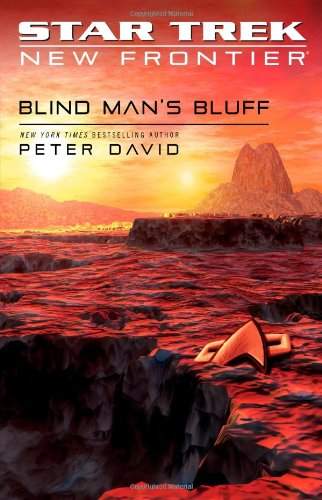 Cover of Blind Man's Bluff (Star Trek: New Frontier, No. 18) (No. 17)