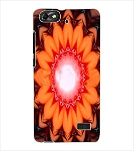 ColourCraft Printed Design Back Case Cover for HUAWEI HONOR 4C