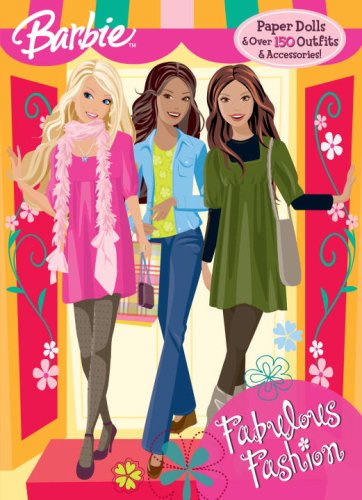 Fabulous Fashion (Paper Doll Book): Barbie