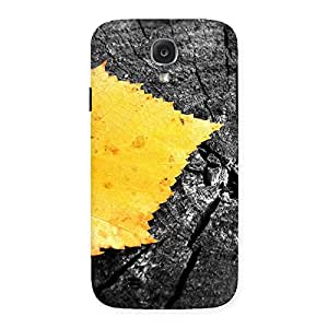 Gorgeous Lonely Leaf Multicolor Back Case Cover for Samsung Galaxy S4