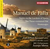 Jean-Efflam Bavouzet Falla: Nights In The Gardens Of Spain (Chandos: CHAN 10694)