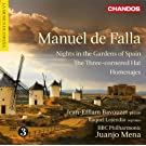 Falla: Nights In The Gardens Of Spain (Chandos: CHAN 10694)