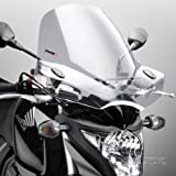 Windshield Puig Touring II clear for Yamaha XVS 650 A Drag Star Classic, XVS 650 Drag Star, XVS 950 A Midnight Star, XVZ 1300 A Royal Star, YBR 125/ Custom