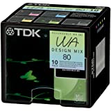 TDK Recordable MD (WA) 80m 10 PACK 5 design mix