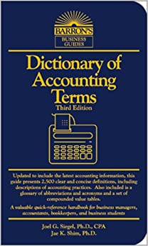 accounting terminology guide Accounting terminology guide a whether it be slight allowancesmatching principle  a fundamental rule f baxic accounting the term refers only to.