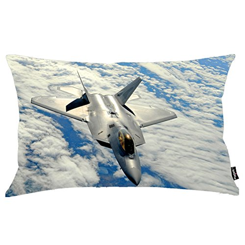 i-famuray-federa-cuscino-lockheed-martin-raptor-above-the-fluffy-clouds-theme-standard-size-20x30