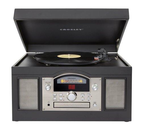 Crosley Radio CR6001A-BK Crosley CR6001A-BK Archiver USB Turntable (Black)