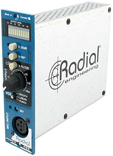 Radial ラジアル 500シリーズ・モジュール マイクプリアンプ Power Pre 500 【国内正規輸入品】