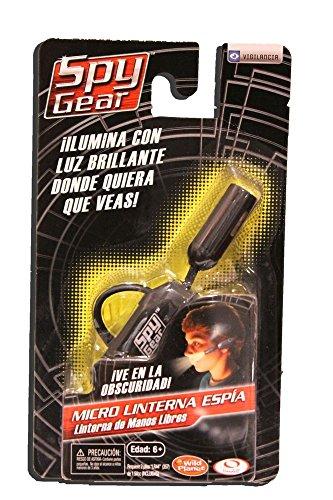 Spy Gear Micro Ear Light (Packaging in Spanish), Black - 1