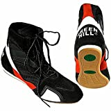 Green Hill 3D Mesh BS-4000 Boxing Shoes, Light Weight Amateur Boxer With Comfortable Feeling And Perfect Fitting, Non Slippery with Best Grip