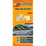 Carte REGION Pays de la Loire 2013 n°517