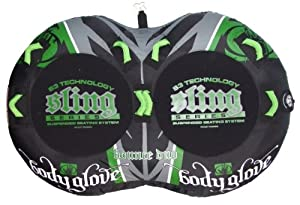 Buy Body Glove Sling Duo Towable (Green Black, 80-Inch) by Body Glove