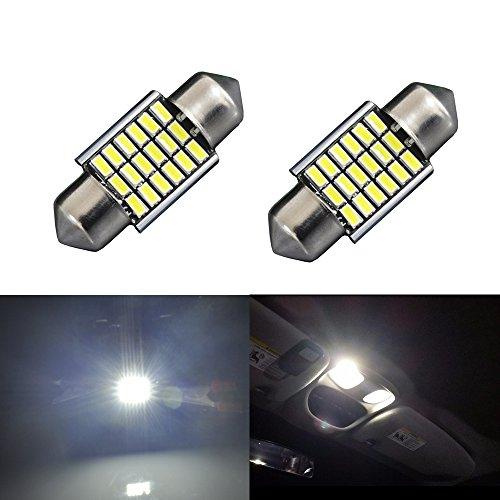 JDM ASTAR Extremely Bright EX Chipsets Error Free 1.25 inches 31mm DE3175 DE3021 DE3022 3175 LED Bulbs, Xenon White (2006 Honda Civic Ex compare prices)