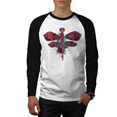 dragon-mouche-insecte-epique-modele-homme-nouveau-blanc-avec-manches-noires-l-base-ball-manche-longu